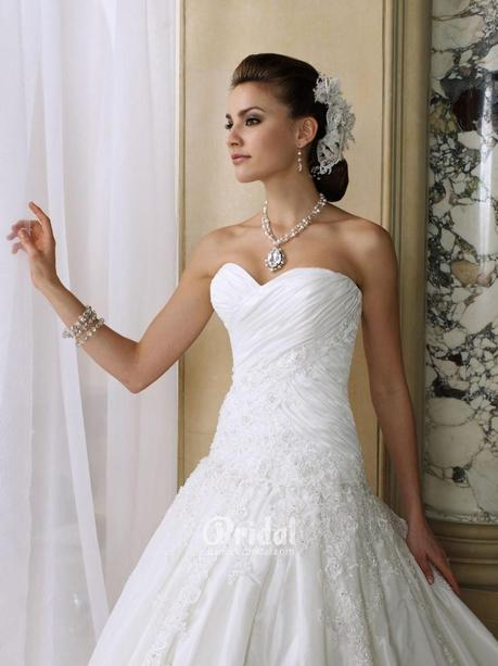 Wedding Dresses With Jewelry : Wedding dress necklines paper