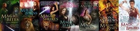 BOOK SERIES | Kate Daniels Series by Ilona Andrews (Reading Order)