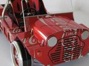 Miniature Vehicles Made From Recycled Cans