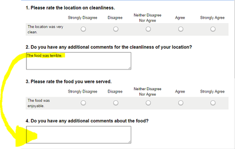 How to Fill Out Customer Surveys