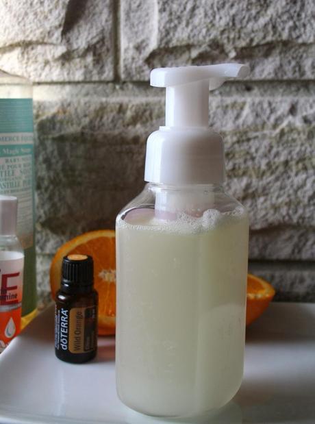 DIY Homemade Foam Hand Soap (Chemical