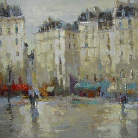 Barbara Flowers Paintings Of Paris Paperblog