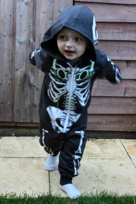 The Funny Bones family – our Halloween costumes