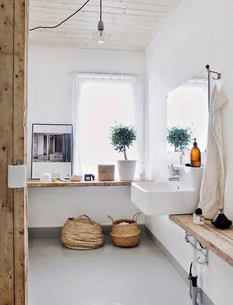 simplicity - Danish flat- old wood - white and wood MĂŠchant Studio Blog