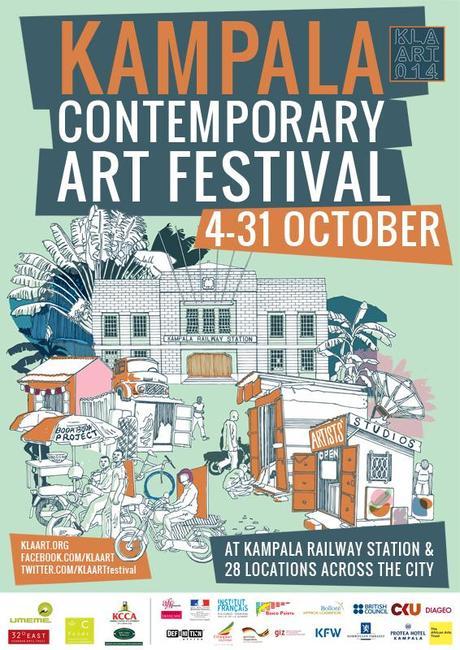 Kampala Contemporary Art Festival KLA ART 014 official poster