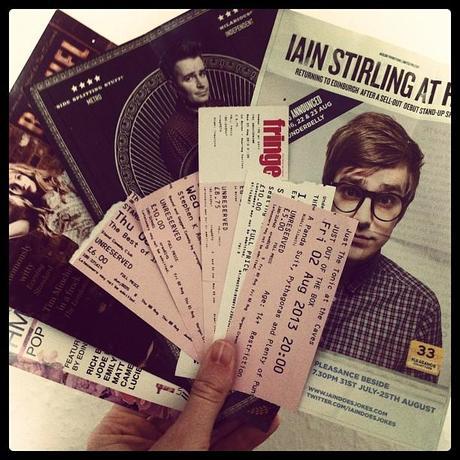 My Edinburgh Fringe Festival Reviews (what I've seen thus far)