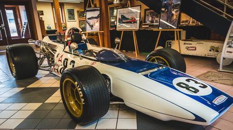 International Motor Racing Research Center entrance