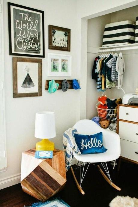 5+ Closet Organization Ideas for the Baby's Nursery