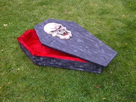 halloween haunt 2014 build a coffin prop