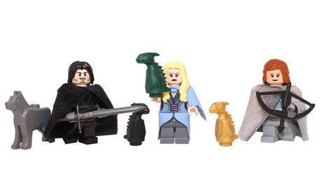 Lego Game of Thrones, game of thrones lego, demonhunter bricks, jon snow lego, ygritte lego, daenerys lego, custom lego, custom mini figures