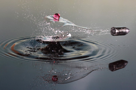 high speed bullets water drops 1