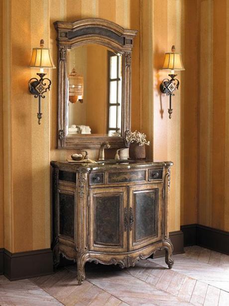 37 Inch Winslow Antique Vanity