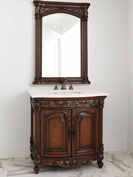 Provincial Small French Vanity