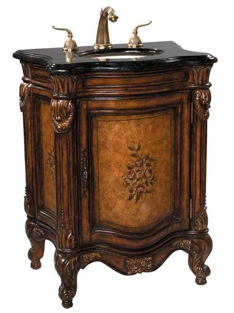 The french provincial bathroom vanities that you ve been looking for paperblog for Antique looking bathroom vanities
