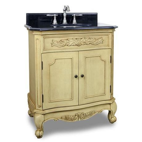 Sunset Cliffs French Inspired Vanity