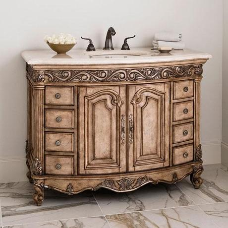 The french provincial bathroom vanities that you ve been for Looking for bathroom vanities