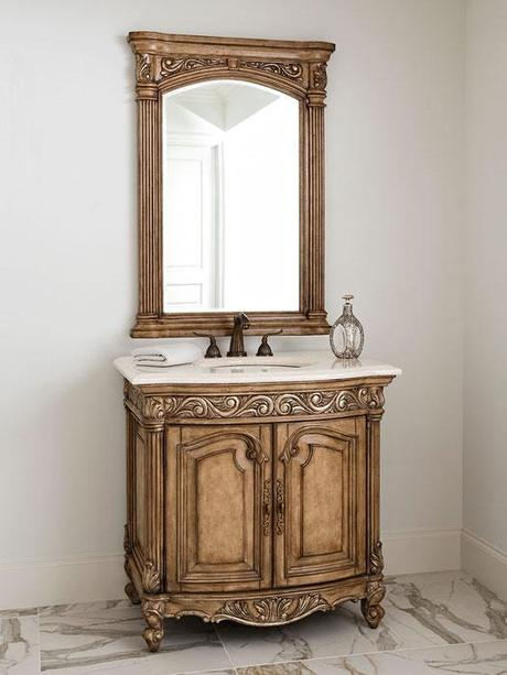 The French Provincial Bathroom Vanities That You've Been