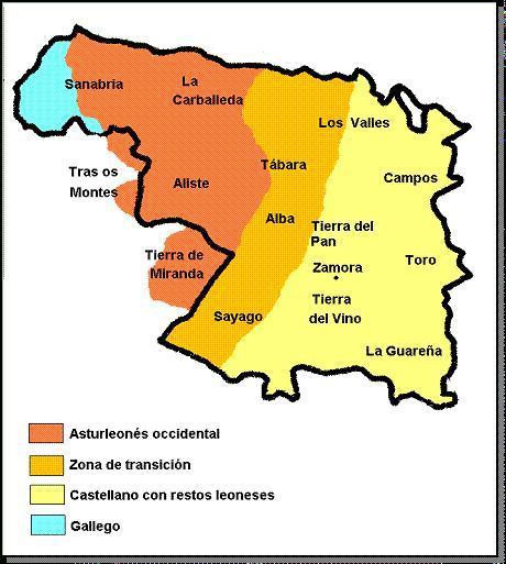 Leonese in Zamora.
