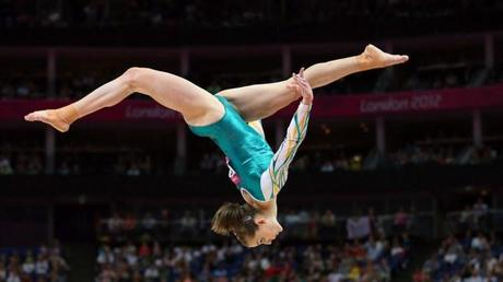 Olympic gymnast. A dream that quickly was replaced by Motherhood.