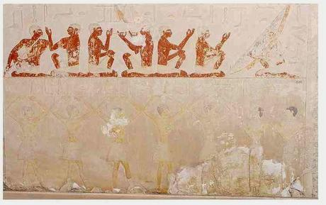 entertainment scene from ancient egypt - paperblog, Powerpoint templates