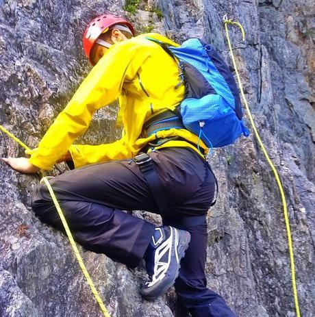 Salomon X Alp scrambling | Climbing Gear Reviews