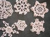 Getting Ready Christmas Season with These Little Crocheted Snowflakes