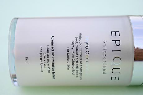 Epique Advanced UV Protection System Broad Spectrum SPF 50