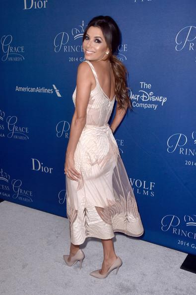 Look Of The Day: Eva Longoria At the 2014 Princess Grace Awards Gala