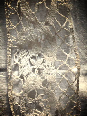 French Brocante corey amaro French Antique Lace