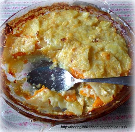 Two Potato Gratin Two Potato Gratin Which i