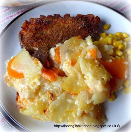 Two Potato Gratin Two Potato Gratin