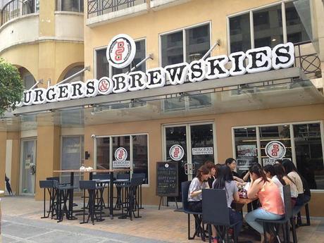burgers and brewskies