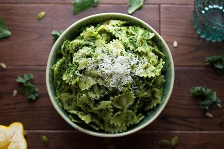 Kale pepita amp sunflower seed pesto l qftcyw