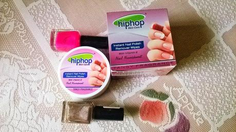 Hiphop Skin Care Instant Nail Polish Remover Wipes Review