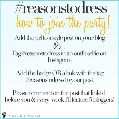 Reasonstodress linkup rules #fblogger linkup, link pary, linky for mom blogger, linkup for mom style