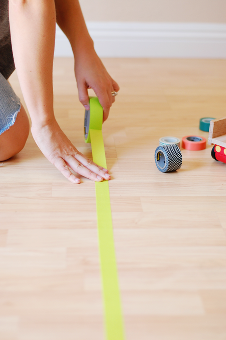 Build A Washi Tape City