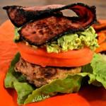 Turkey Burger Deluxe {high protein, low carb}