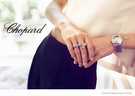 @DelevingnePoppy in @CHOPARD JEWELRY SHOOT