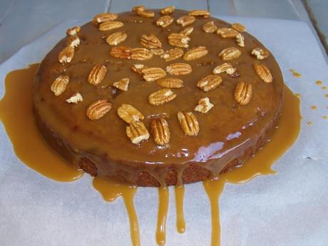 Prune Cake with Caramel Coffee Glaze – Kellis Kitchen
