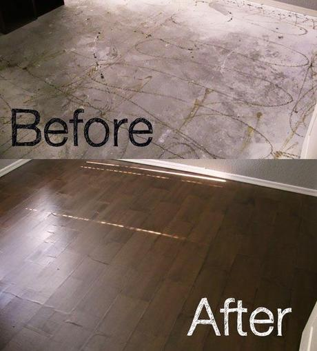 Paper Bag Flooring: New Floors From Paper Bags for under $100. Amazing.