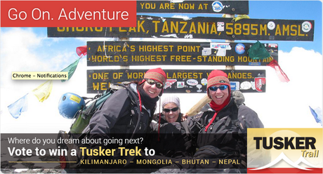 Help Tusker Trail Pick Their Next Trek, Win An Adventure Of Your Own!