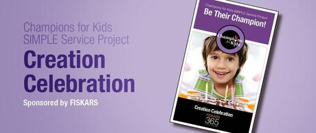 Creation Celebration With Champions for Kids & Fiskars