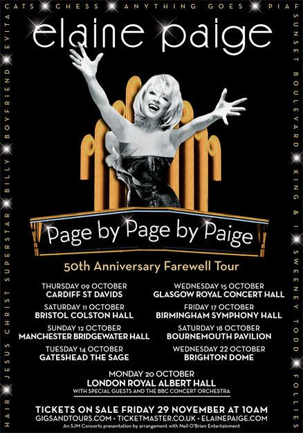 Page by Page by Paige Tour – Review