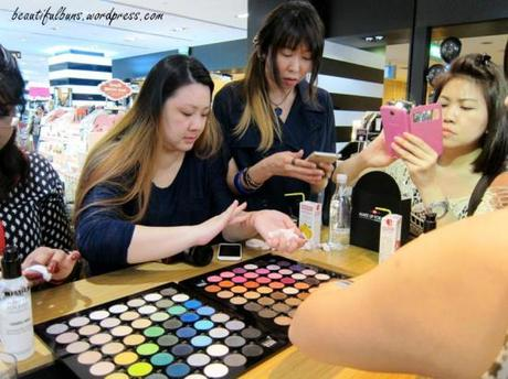 MUFE eyeshadow event (1)