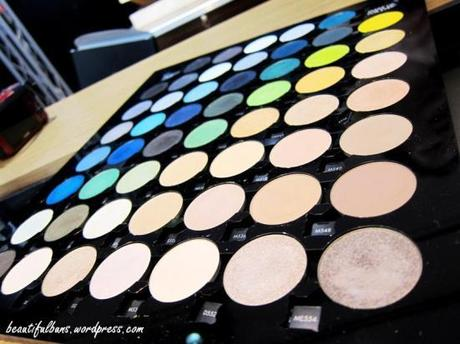MUFE eyeshadow event (2)