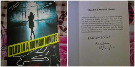 Dead In A Mumbai Minute - Book Review