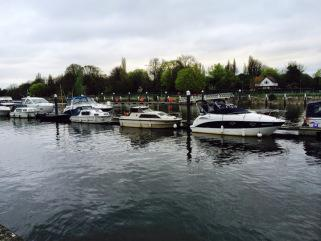Eat at the Wharf Restaurant overlooking the Thames in Teddington