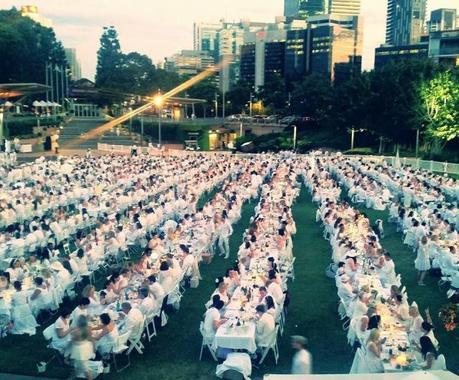 Let the dinner begin. Photo by Joanne Benneworth.