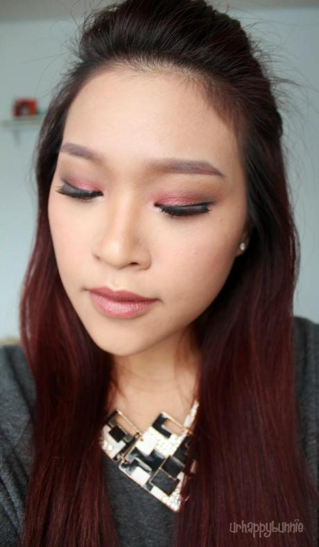 Fall 2014: Changing Leaves Makeup Look