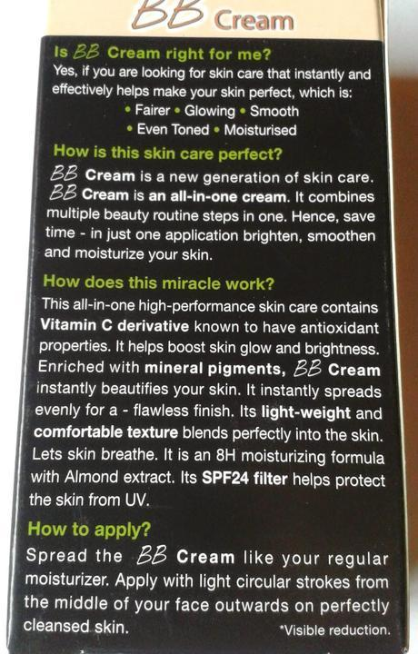Garnier BB Cream - My one stop make up solution to a flawless face